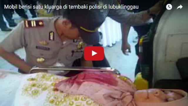 Video: Ini Nih Tampang Polisi Penembak Brutal Satu Keluarga Dalam Mobil