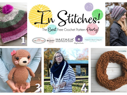 Best Free Crochet Patterns - In Stitches Link Up Party Week #24