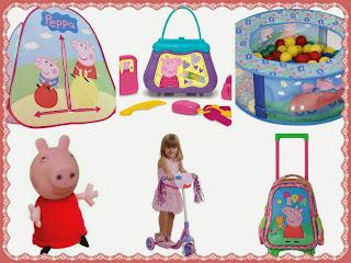 14 Presentes e Brinquedos da Peppa Pig e sua turma para as crianças!