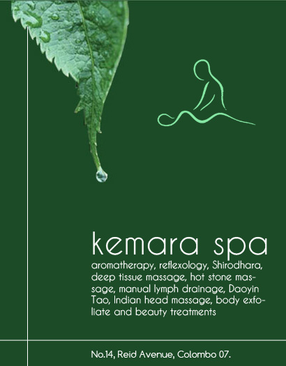 Kemara Spa – massage center in Cinnamon Gardens