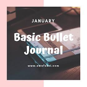 12 Months Bujo challenge January by ewafebri