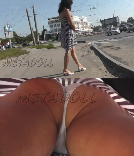 Sexy college girls - Spycam upskirt of girls on the bus stop. Hidden camera upskirts in subway (100Upskirt 4713-4765)