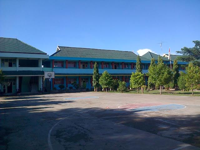 Suasana Lapangan Basket Smansa Pinrang Pagi Hari Beginilah SMA Negeri 1 Pinrang Zaman Dulu