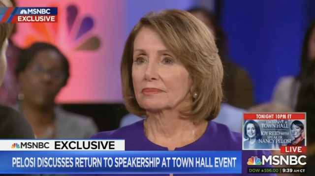Pelosi: Calling Trump 'Mother-F**ker' No 'Big Deal;' Doesn't 'Have Impact on Peoples' Lives