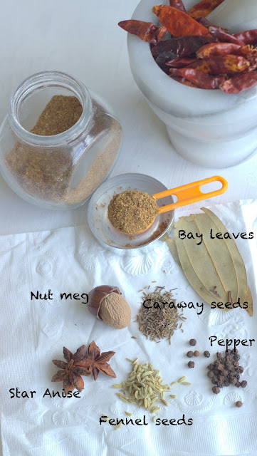 Easy garam masala, allspice mix, simple garam masala, how to make garam masala, how to make simple garam masala, garam masala recipe