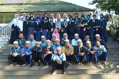 Santri Dauroh Ramadhan ke-12 Daarut Tauhiid Bandung, daurah qolbiyah