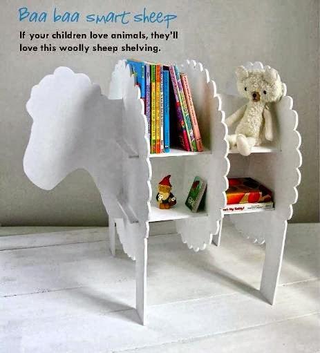Φτιάξε μόνος σου Βιβλιοθήκη πρόβατο χωρίς βίδες και καρφιά