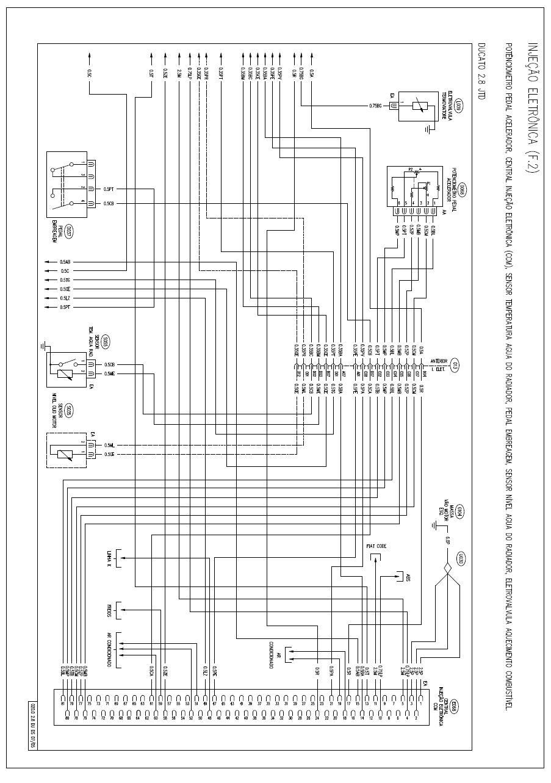 Esquema elétrico da Ducato 2.8 :: Mecadiesel