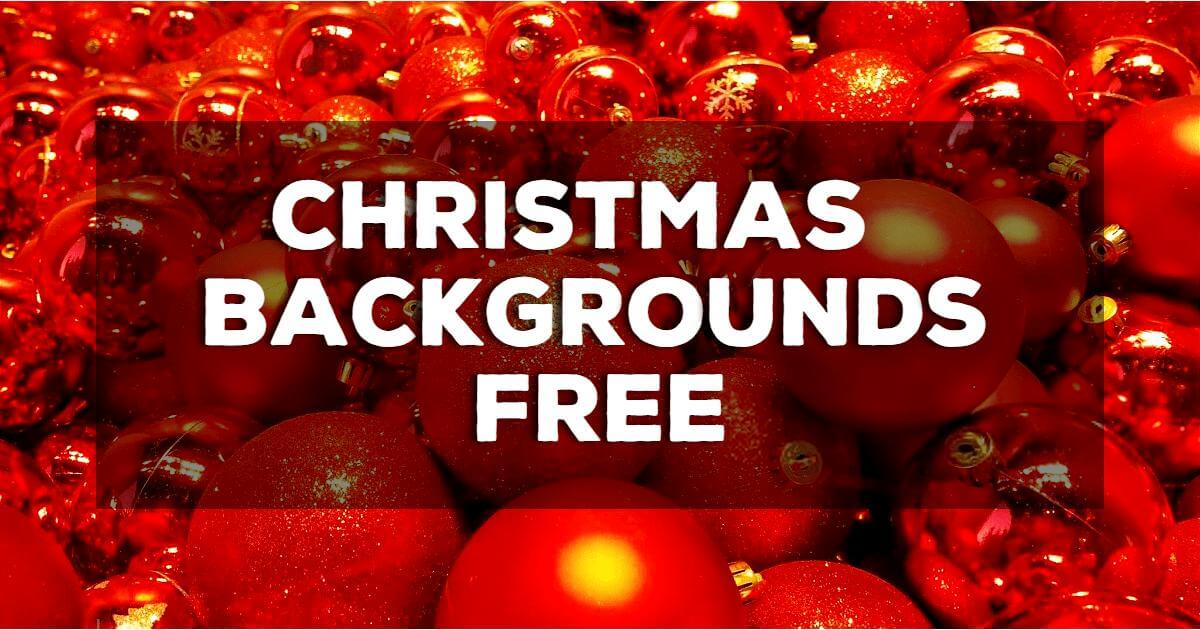 Christmas Backgrounds Free Download