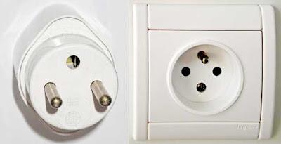 Instalaciones eléctricas residenciales - Enchufe Tipo E