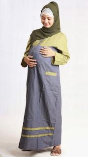 Ide baju hamil muslim sehari-hari