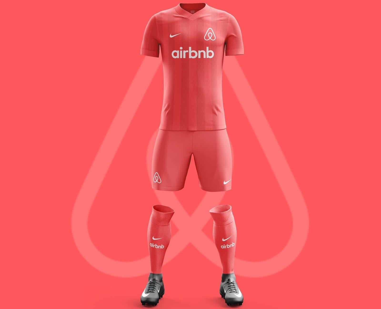 ef2f8029dc984 Designer cria camisas de futebol para os aplicativos de celular ...