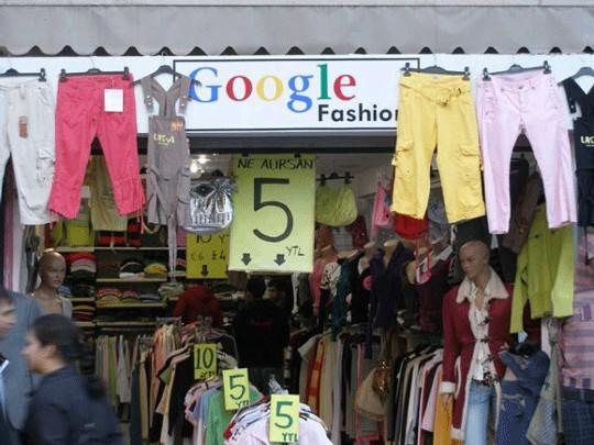 [PIC] Google Buka Toko Baju?
