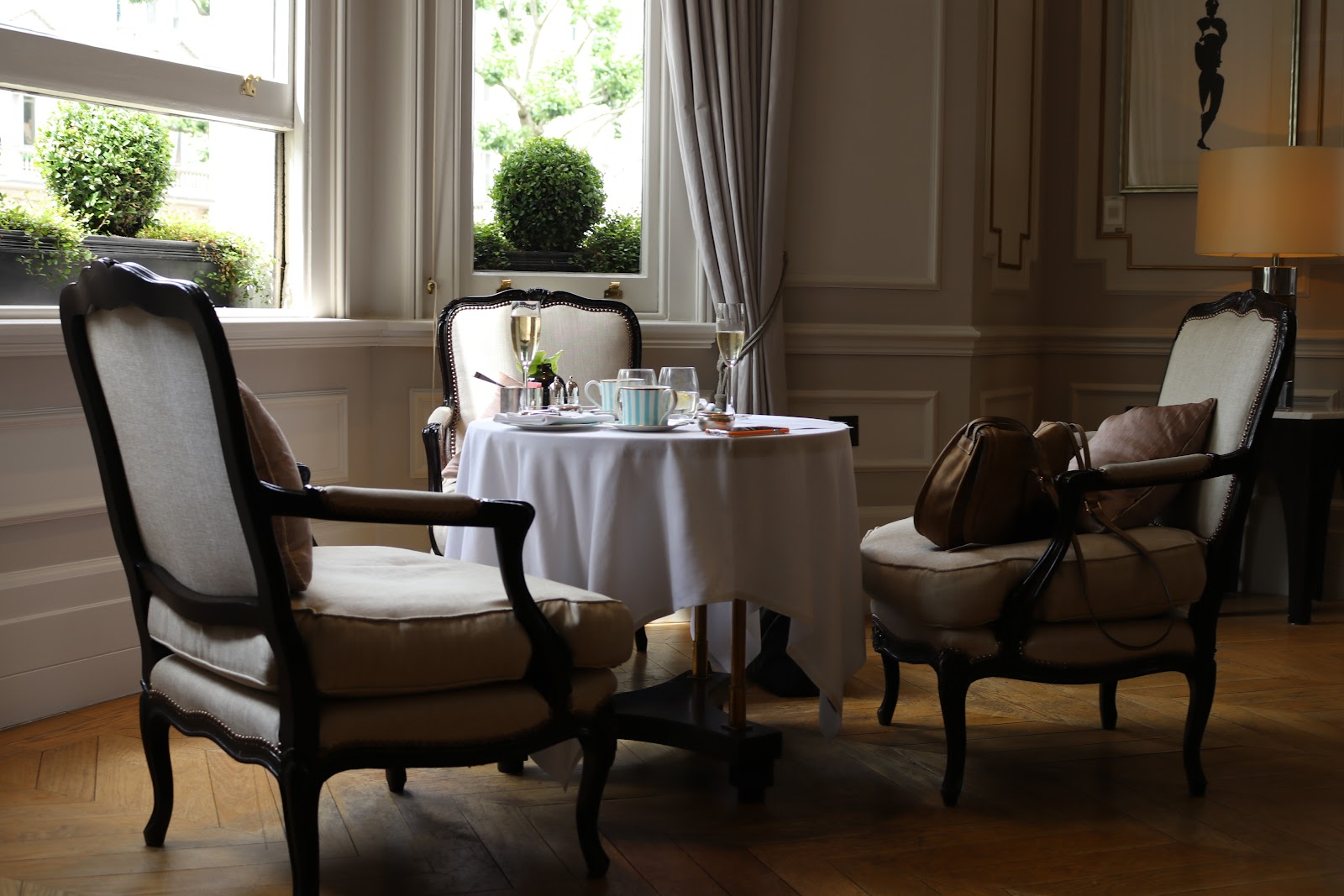 Afternoon Tea, The Town House, The Kensington Hotel, Kensington, Chelsea, London