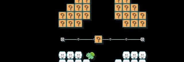 Charmander y compañía en Super Mario Maker 1