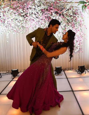 alesia-raut-siddhaanth-dances-in-reception