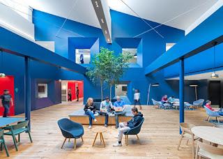 Lựa chọn màu sắc thông minh thiết kế không gian văn phòng