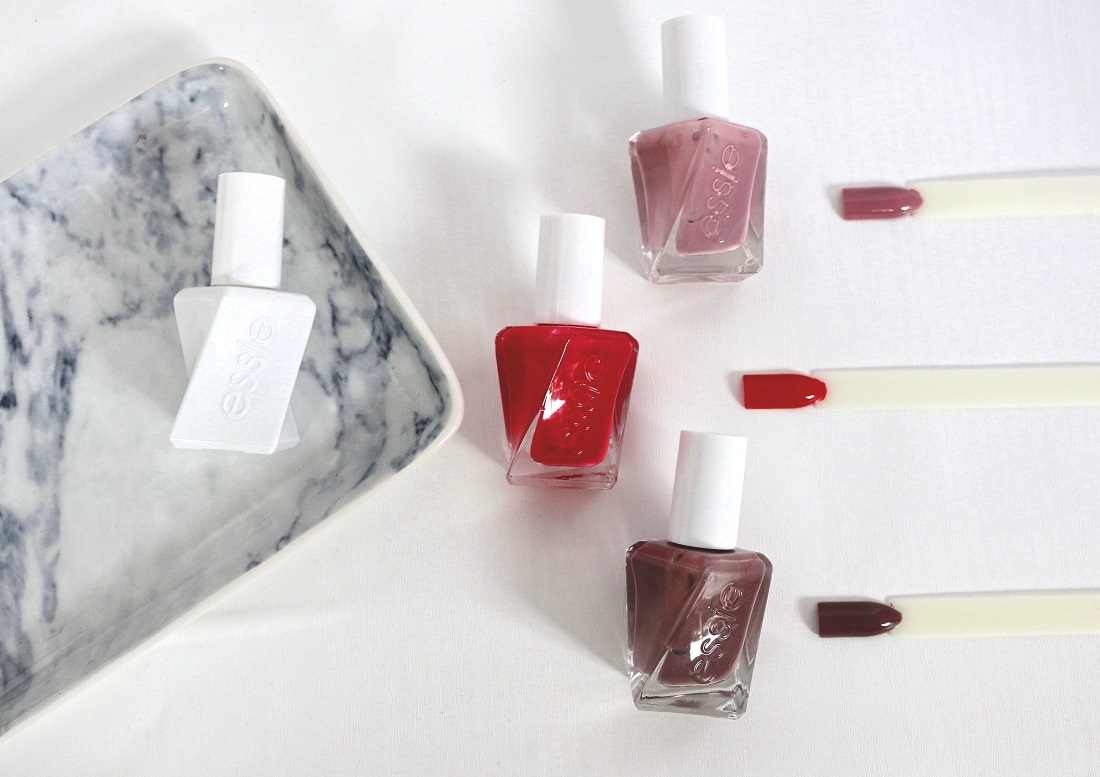 Essie Gel Couture Nail Polish Take Me To Thread, Touch Up and The It-Factor