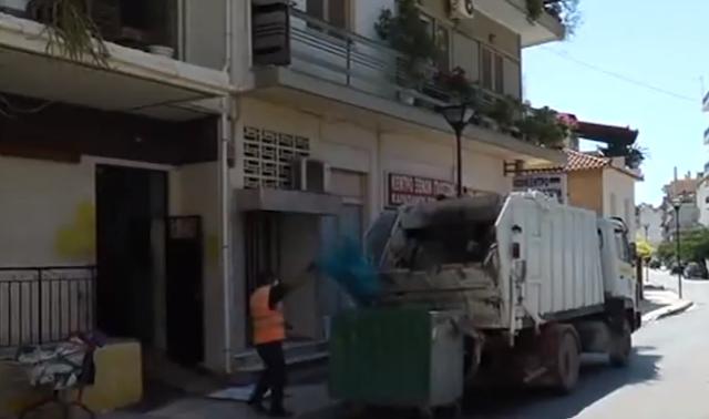 Επιχείρηση καθαριότητας σε σπίτι επικίνδυνο για τη δημόσια υγεία στο κέντρο του Άργους (βίντεο)