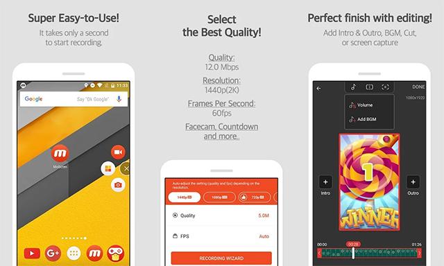 Mobizen Screen Recorder - Aplikasi Perekam Layar HP Android
