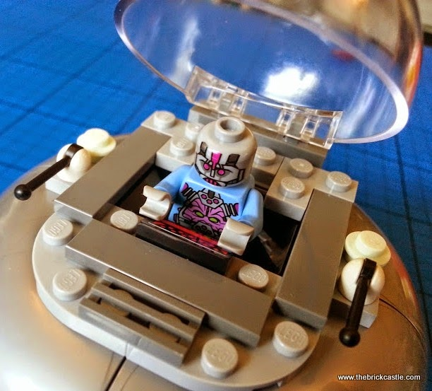 The Kraang ship LEGO set 79120