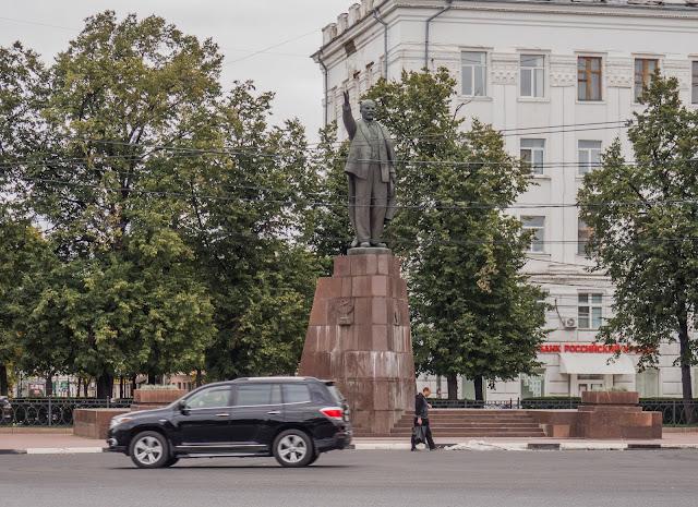 Памятник В.И.Ленину в г. Рязань на ул. Черновицкая
