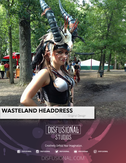 WASTELAND HEADDRESS
