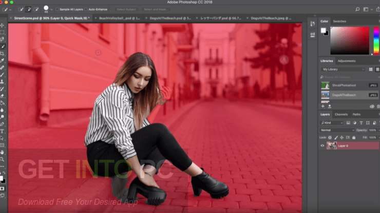 descargar adobe photoshop cc 2018 en español