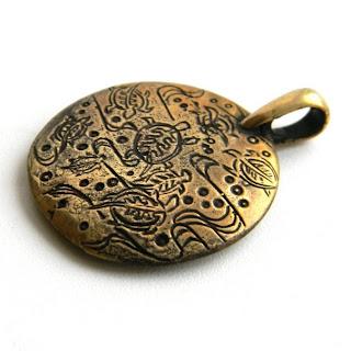 купить кулон подвеску медальон черепахи бронзовый латунный украшение глюкоморье