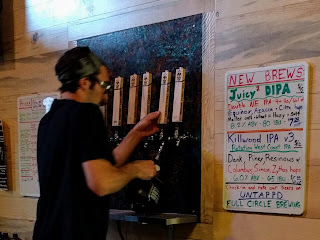 not Jeff at Full Circle Brewing Company in Fresno