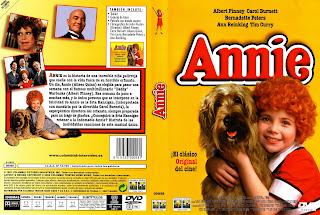 Caratula dvd:Annie (1982)