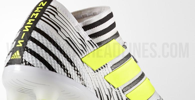 ddbab072598a The Adidas Nemeziz Dust Storm soccer cleat launch edition introduces an eye  catching white
