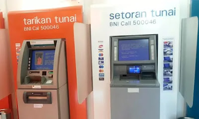 Transfer Setor Tunai ATM BNI