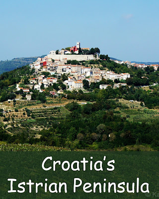 Croatia's Istrian peninsula has a number of towns to explore including Motovun, Pazin, and Porec.