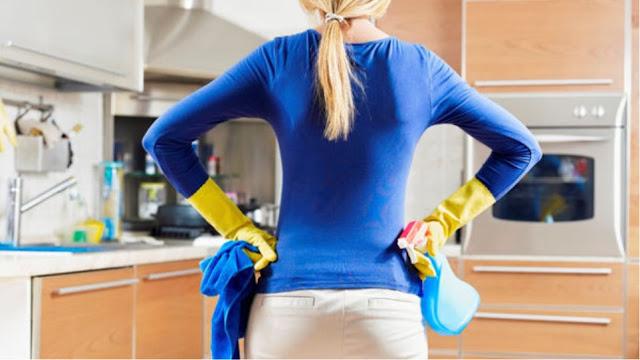 """Πηγές κρυφής ρύπανσης στο σπίτι από το μαγείρεμα και τη """"φασίνα"""""""