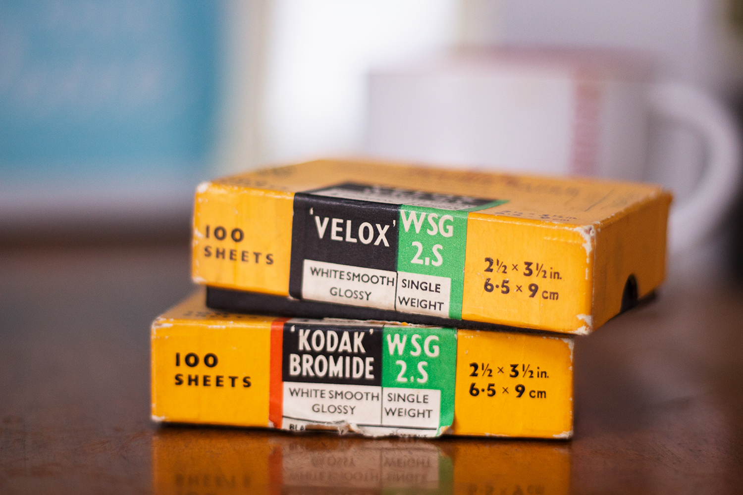 Kodak photographic paper prints