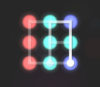 Solution, Cheats, Walkthrough for Neon Hack [Neon Dots] Level 32