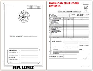 download contoh buku legger SD