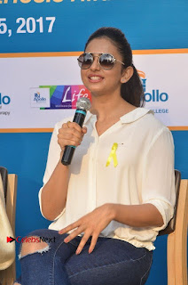 Actress Rakul Preet Singh at Endometriosis Awareness Walk at Apollo Cradle  0088.jpg