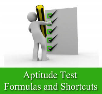 APTITUDE FORMULAS AND SHORTCUT METHOD