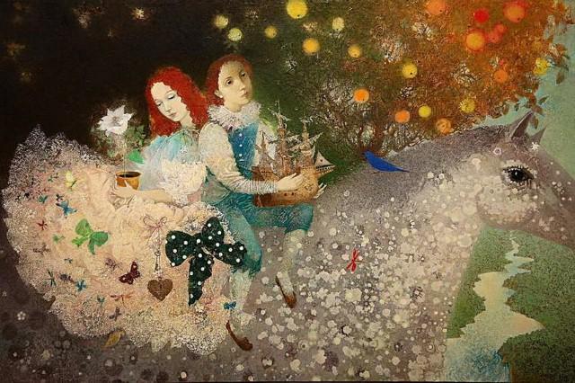 Изобразительное искусство Белоруссии. Елены Шлегель 4