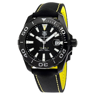 TAG HEUER Aquaracer Black Dial Automatic WAY218A.FC6362