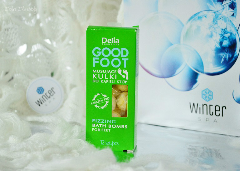 Delia Cosmetics Musujące kulki do kąpieli stóp Good Foot