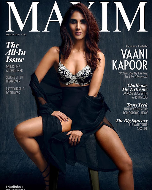 Vaani Kapoor on Maxim Magazine Cover Page