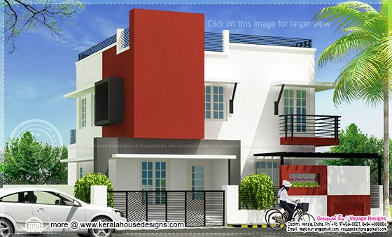 Modern house in Cochin
