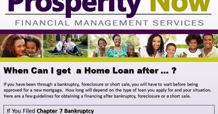 madam money 39 s financial blog when can i get a home loan after foreclosure or bankruptcy. Black Bedroom Furniture Sets. Home Design Ideas