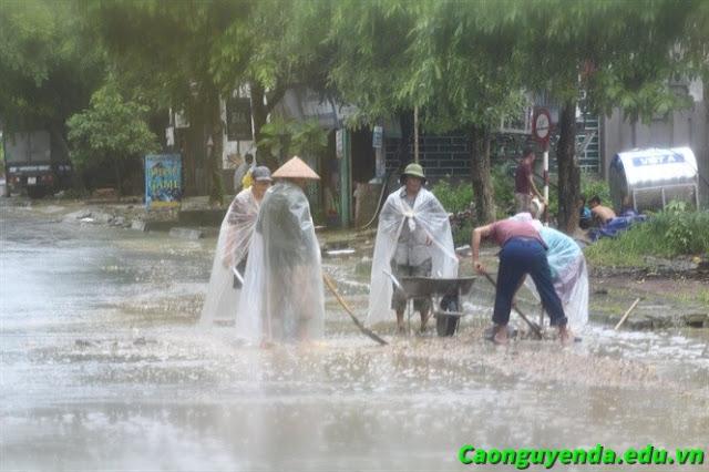 Mưa lũ vẫn rình rập ở Hà Giang