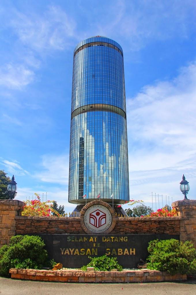 Mengenang Masa Lalu Di Bangunan Yayasan Sabah (Menara Tun Mustapha)