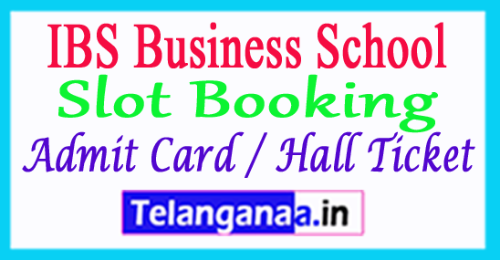IBSAT 2018 Slot Booking IBSAT Admit Card / Hall Ticket 2018