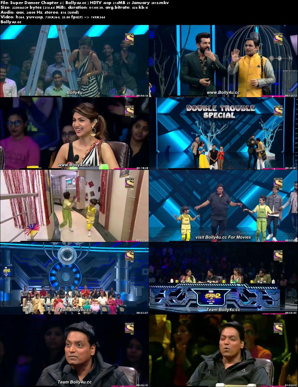 Super Dancer Chapter 2 HDTV 480p 200MB 21 January 2018 Download